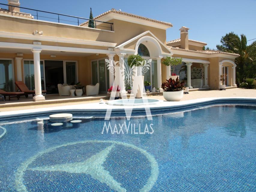 Moraira Luxury Villa For Sale
