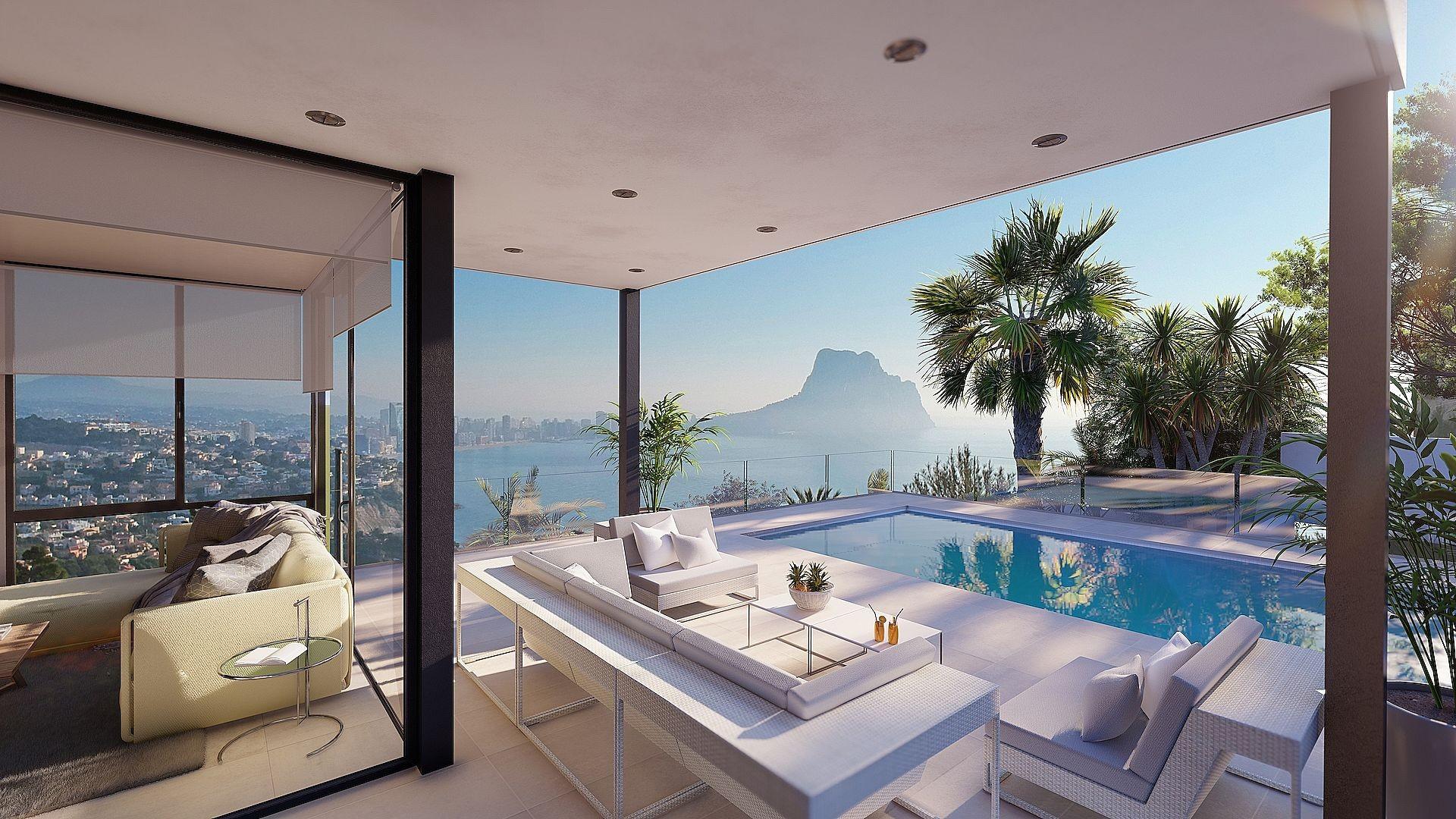 3 bedroom Villa in Calpe - Max Villas
