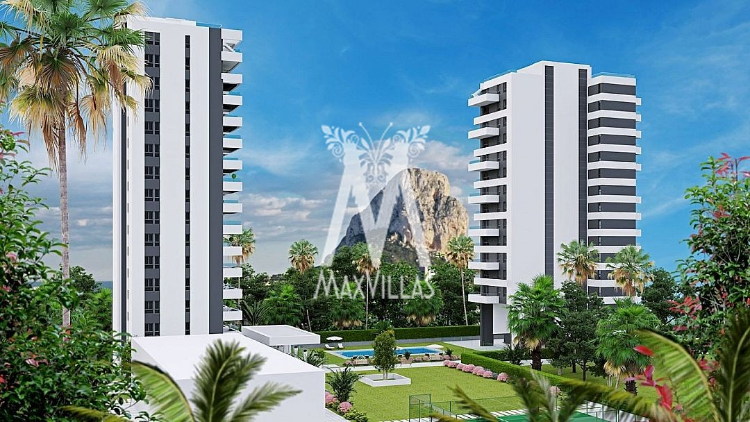 Project nieuwbouw appartement in Calpe