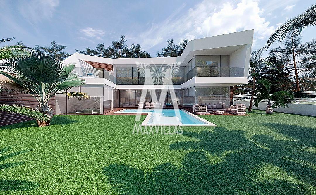 Nieuwbouw villa in Altea