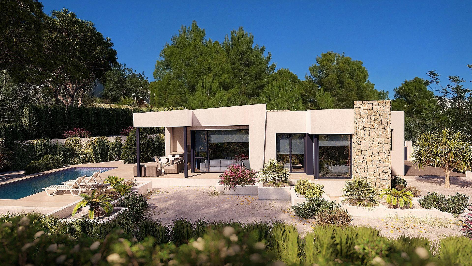 3 Chambre à coucher Villa in Benissa  - Max Villas