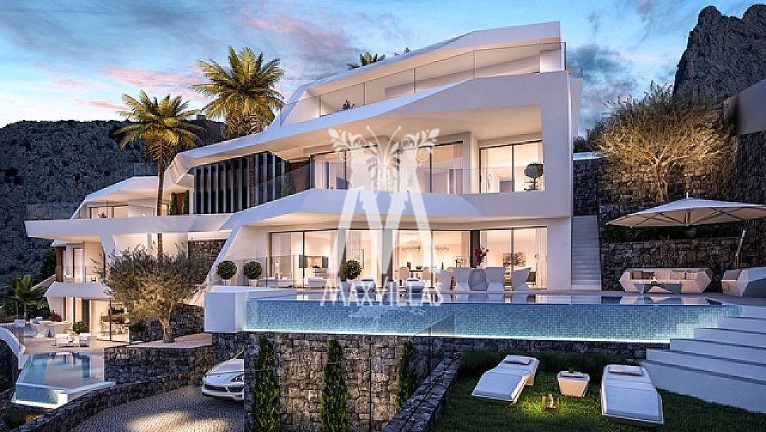 Villa met zeezicht Altea, aan Campomanes haven A2