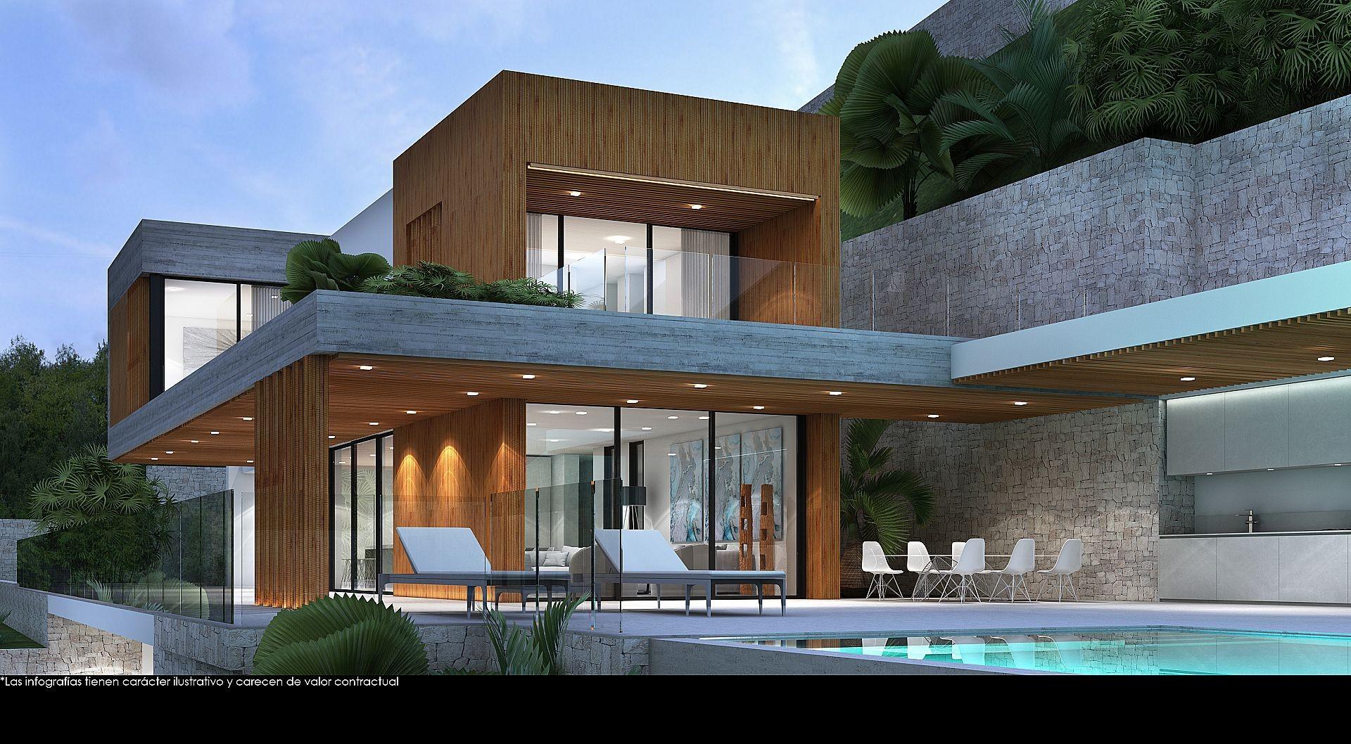 Neubau mit Meerblick, La Fustera - Max Villas