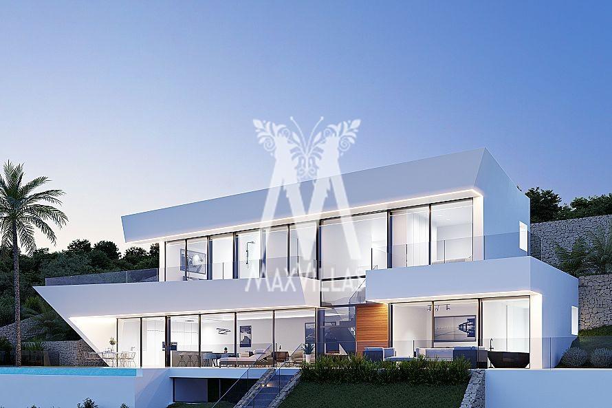 Nieuwbouw met panoramisch zeezicht