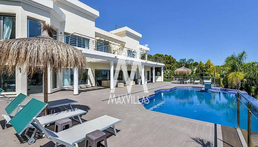 5 slaapkamers, 2 zwembaden, zeezicht - Max Villas