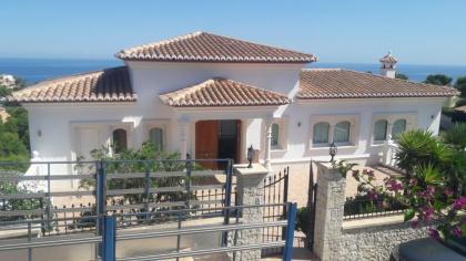 Villa met spectaculair zeezicht