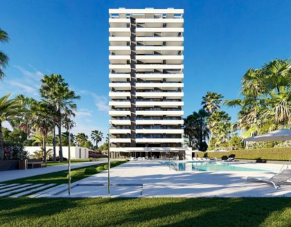 New apartments close to the beach, Calpe