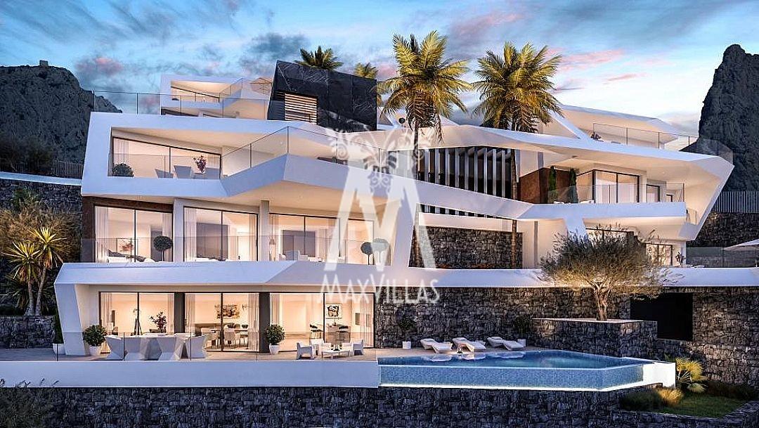 Villa met spectaculair zeezicht Altea A1