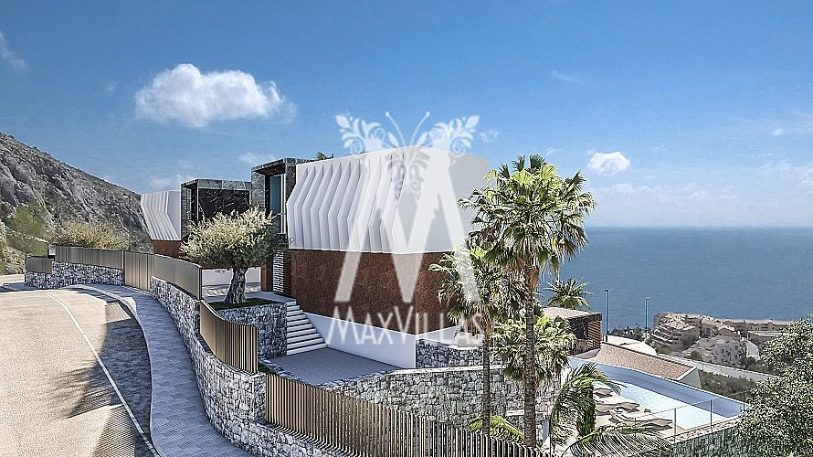 Luxe villa aan haven Campomanes Altea B2