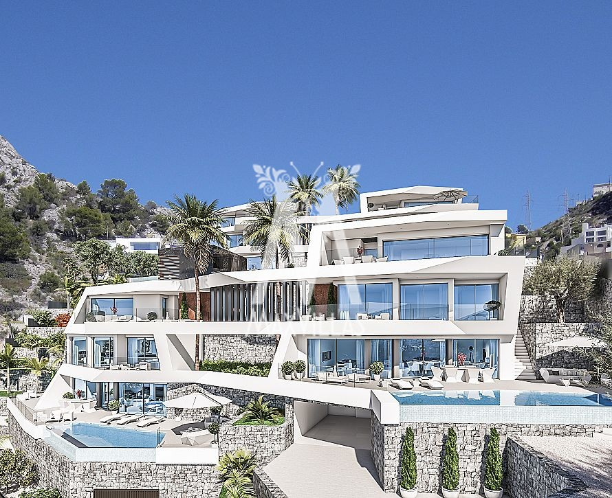 Luxe villa aan haven Campomanes Altea B1